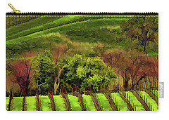 Enhanced Stunning Napa Valley Vineyards Vibrant  Carry-all Pouch