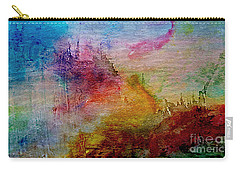1a Abstract Expressionism Digital Painting Carry-all Pouch