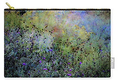 Digital Watercolor Field Of Wildflowers 4064 W_2 Carry-all Pouch