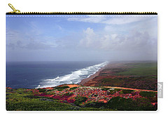 Flowering Beach Point Reyes Lighthouse Bodega Bay Carry-all Pouch