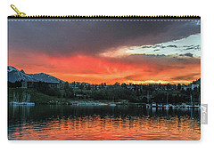 Dillon Marina At Sunset Carry-all Pouch