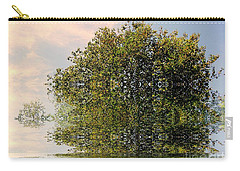 Carry-all Pouch featuring the photograph Dimensional by Elfriede Fulda