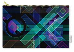 Carry-all Pouch featuring the digital art Dimensions 14 by Lynda Lehmann