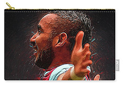 Dimitri Payet Carry-all Pouch by Semih Yurdabak