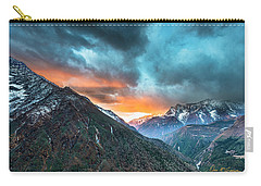 Dingboche Sunrise Carry-all Pouch