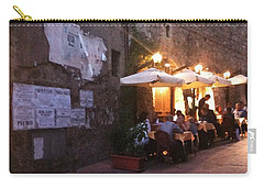 Dining In Tuscany Carry-all Pouch