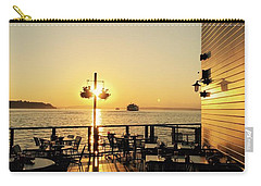 Dinner On The Water Carry-all Pouch