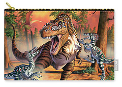 Dino Battle Carry-all Pouch
