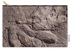 Carry-all Pouch featuring the photograph Dino Feet by Anne Rodkin