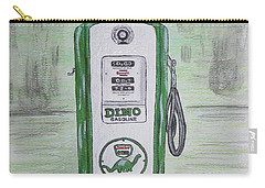 Dino Sinclair Gas Pump Carry-all Pouch by Kathy Marrs Chandler