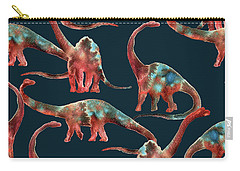 Diplodocus Carry-all Pouch by Varpu Kronholm