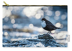 Dipper On Ice Carry-all Pouch by Torbjorn Swenelius