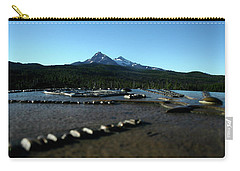 Carry-all Pouch featuring the photograph Directional Points by Laddie Halupa