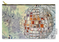 Disco Ball Tree Ornament Carry-all Pouch