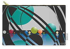 Discovered Thoughs Carry-all Pouch by Leo Symon