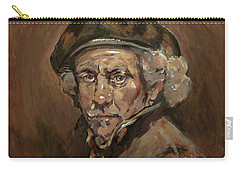Disguised As Rembrandt Van Rijn Carry-all Pouch