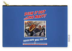 Dish It Out With The Navy Carry-all Pouch