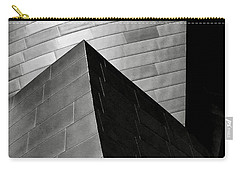 Disney Concert Hall Black And White Carry-all Pouch