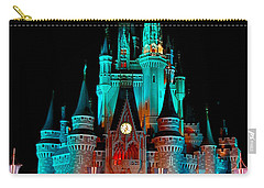 Carry-all Pouch featuring the photograph Disney World Night by John Haldane