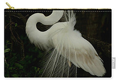 Displaying In The Shadows Carry-all Pouch by Myrna Bradshaw