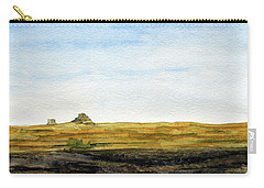 Distant Courthouse And Jail Rocks Carry-all Pouch by R Kyllo