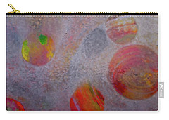 Carry-all Pouch featuring the painting Distant Planets by Robert Margetts
