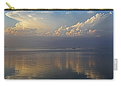 Carry-all Pouch featuring the photograph Distant Thunder by HH Photography of Florida