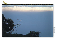 Distant White Clouds Carry-all Pouch by Don Koester