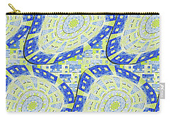 Distorted Order Carry-all Pouch by Lori Kingston