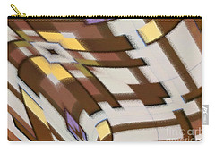 Carry-all Pouch featuring the digital art Distortion by Wendy Wilton