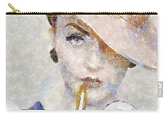 Diva Drama Carry-all Pouch by Shirley Stalter