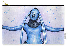 Diva Plavalaguna Fifth Element Carry-all Pouch by Olga Shvartsur