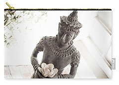 Carry-all Pouch featuring the photograph Divine Back Light by T Brian Jones