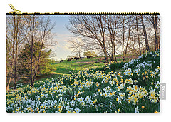 Carry-all Pouch featuring the photograph Divine Bovines by Bill Wakeley