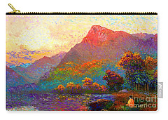 Buddha Meditation, Divine Light Carry-all Pouch by Jane Small