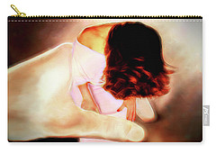 Divine Protection Carry-all Pouch by Pennie  McCracken