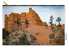 Carry-all Pouch featuring the photograph Dixie National Forest by Kathleen Scanlan