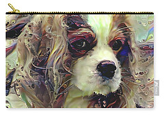 Dixie The King Charles Spaniel Carry-all Pouch