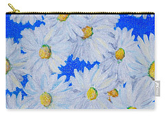 Dizzy Daisies Carry-all Pouch