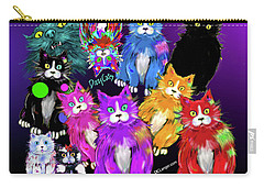 Dizzycats Carry-all Pouch