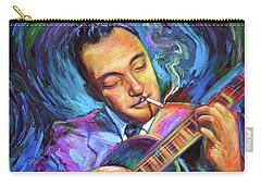 Django Reinhardt  Carry-all Pouch by Robert Phelps
