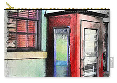 Do-00091 Telephone Booth In Morpeth Carry-all Pouch