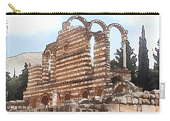 Do-00302 Ruins In Anjar Carry-all Pouch