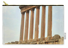 Do-00314 The 6 Corinthian Columns In Baalbeck Carry-all Pouch