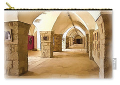 Carry-all Pouch featuring the photograph Do-00324 Beiteddine Gallery by Digital Oil