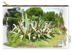 Carry-all Pouch featuring the photograph Do-00335 Plant Bois Des Pins by Digital Oil