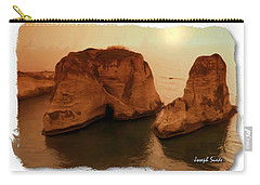 Do-00405 Raouche Sunset Beirut  Carry-all Pouch