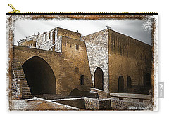 Carry-all Pouch featuring the photograph Do-00422 St Gilles Citadelle by Digital Oil