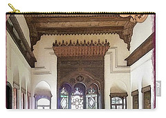 Carry-all Pouch featuring the photograph Do-00448 Reception Room At Beiteddine by Digital Oil