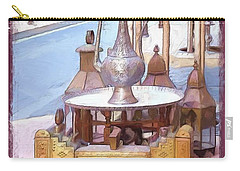Carry-all Pouch featuring the photograph Do-00456 Artisanat Collection by Digital Oil